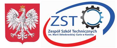 Logo ZST w Koninie